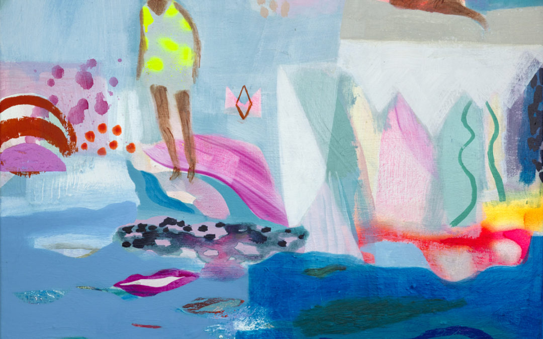 Weekend Painting and Collage Workshops in January and April 2020